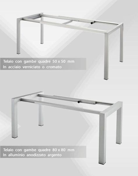 Tavoli Per Camper Allungabili.Tavoli Con Guide Allungabili In Alluminio Tavoli Allungabili