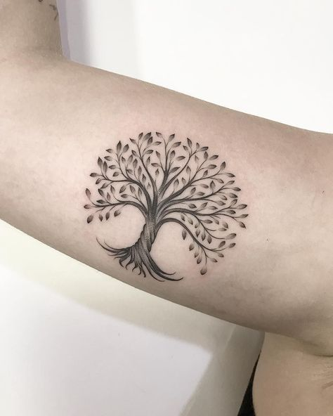 Trendy tree of life tattoo small art ideas