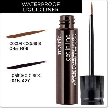 Painted In Line Hook Avon Waterproof Eyeliner Mark Get Black Up
