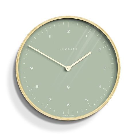 Green Wall Clocks, Plywood Walls, Sage Color, Muted Colors, Aesthetic Pictures, Scandinavian Design, Wall Collage, Bubbles, Living Room