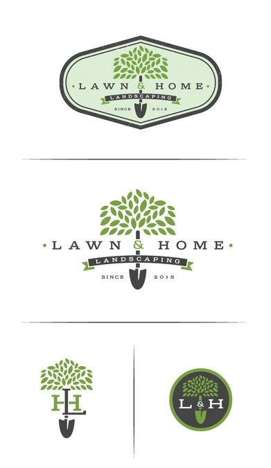Winning Design By Will Lawn Care Logo Maintenance Logo Landscaping Logo