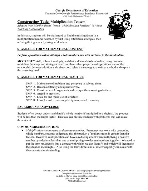 Division Worksheets Grade 4 Computer No Remainders Math For