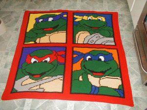teenage mutant ninja turtles tmnj crochet pattern