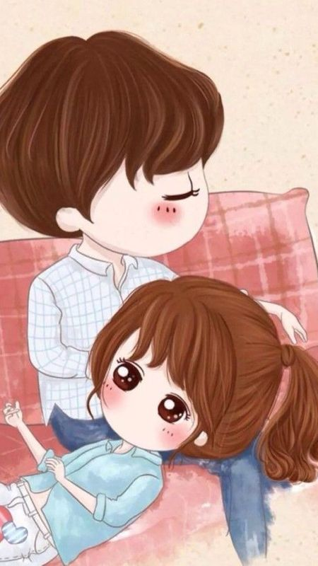 I Love You Wallpaper Download Mobcup Cute Love Wallpapers Cute Love Cartoons Cute Couple Cartoon