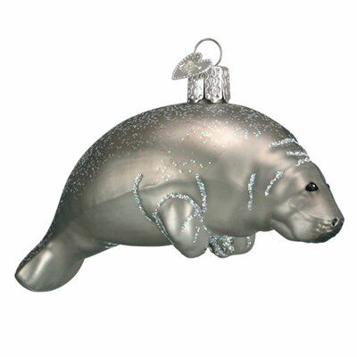 Old World Christmas Manatee Hanging Figurine Ornament Wayfair Old World Christmas Ornaments Old World Christmas Christmas Ornaments