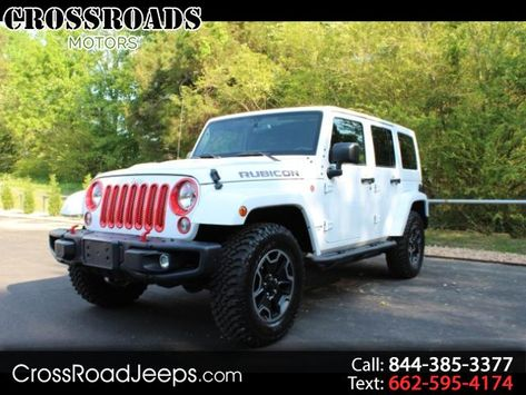 Used 2016 Jeep Wrangler Hard Rock Rubicon For Sale In Memphis Tn 38128 Crossroads Motors Used Cars 2016 Jeep Wrangler Cars For Sale