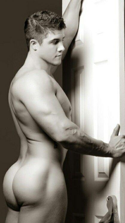 Men nice naked ass with