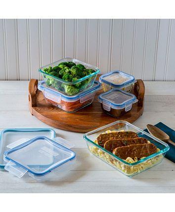Snapware 10 Pc Glass Meal Prep Set Reviews Kitchen Gadgets Kitchen Macy S In 2020 Snapware Meal Prep Meals