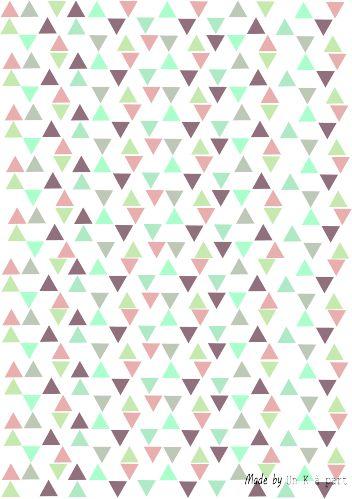 Motif triangles à imprimer