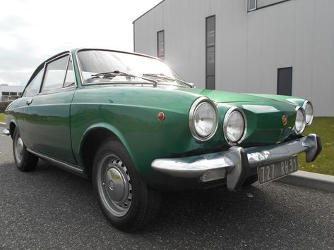 Fiat 850 Coupe 1971 Automobile Cars Vehicles
