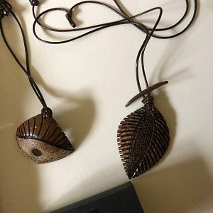 Coconut Shell Pendant The Mask Gift For Him African Pendant