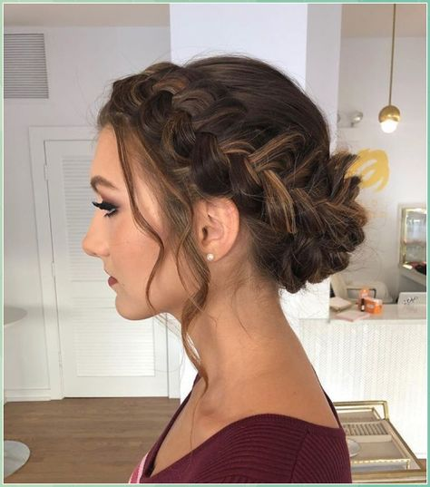 Wedding braids: 50 bridal hairstyles with braids - page 2 of 57 #Wedding #braids: #bridal #hairstyles #with #braids #page