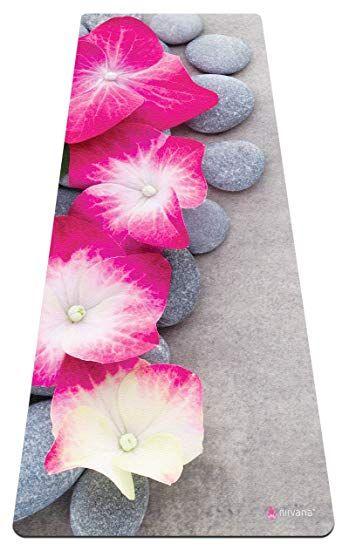 cheapest sale shop for luxury sale retailer Nirvana Yoga Premium Yoga Mat & Carrier Bag - Beautiful Pink ...