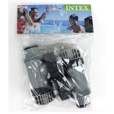 Intex Above Ground Plunger Valves with Gaskets /& Nuts 2 Each Hose Adapters