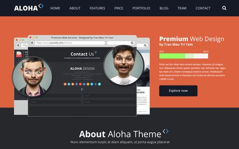 32+ Web Design & SEO Company WordPress Themes 2019
