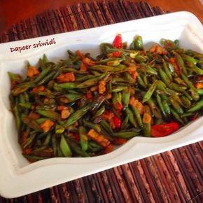 Resep Tumis Buncis Tempe Oleh Dapoer Sriwidi Resep Tumis Resep Masakan Asia Resep Makanan
