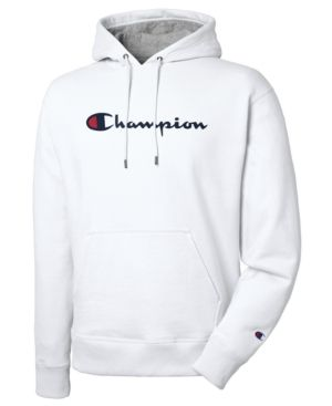 406df8199a5 Champion Men Script Logo Powerblend Hoodie in 2019 | Products ...