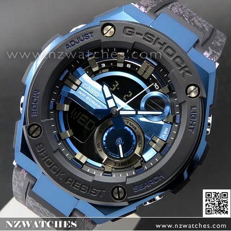 Casio G Shock 200m Analog Digital Black Gold Sport Watch Ga 400gb ... 111c686f5
