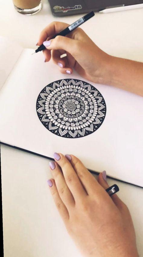 ✔ Drawing Doodles Videos Zentangle Patterns #draw #drawinganatomyandart #drawingpractice