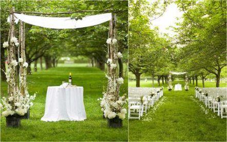 Backyard Ideas On A Budget Cheap Simple Wedding Reception 34 Ideas For 201 Wedding Ceremony Decorations Outdoor Wedding Themes Outdoor Cheap Wedding Reception