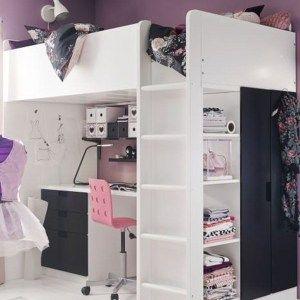 67 Top Popular Bunk Bed For Teenagers Lit Superpose Bureau