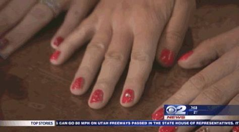 Twin Tested: Valentine's Nails