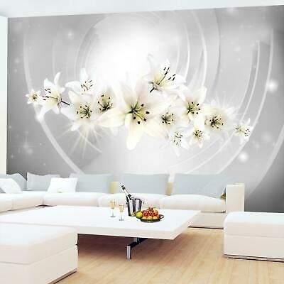 Vlies Fototapete Blumen Lilien 3d Effekt Tapete Wandbilder Xxl Wohnzimmer 3motiv For Sale Picclick De In 2020 Fototapete Blumen Fototapete Vlies Fototapete