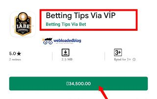 Betting Tips Via Vip Paid Betting Vip Tips