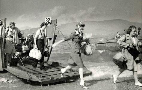 Image result for women landing on d day