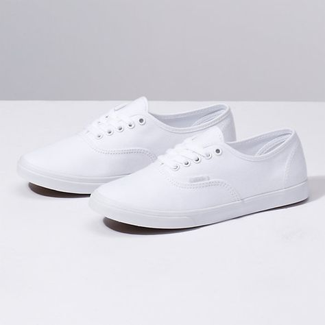 vans authentic lo pro blanche