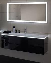 Miroir Luz 120cm Eclairage Led Antibuee Espace Aubade Salle De