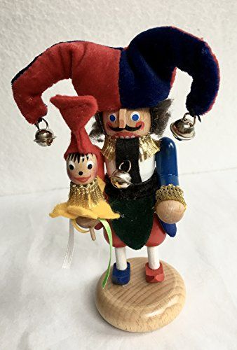Steinbach Jester LE Mini Nutcracker >>> Details can be found by clicking on the image.