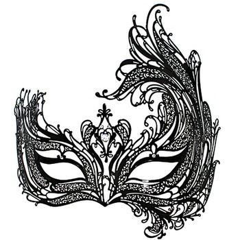 venetian masquerade masks template - Google Search Halloween - masquerade mask template