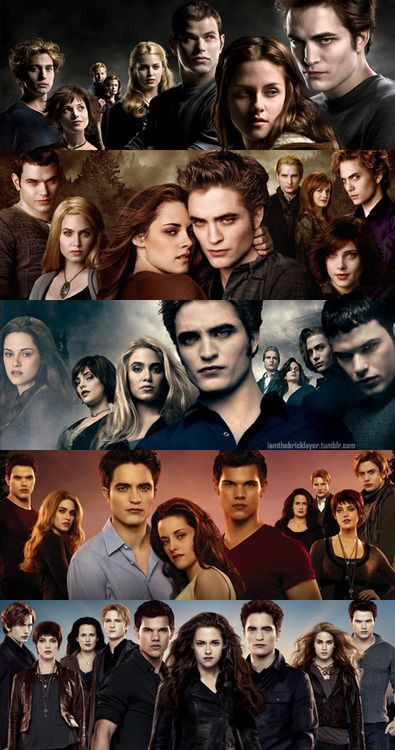 Twilight Saga - Twilight - New Moon - Eclipse - Breaking Dawn Family - Bluemedia Twilight Edward, Film Twilight, Twilight Jacob, Twilight Saga Quotes, Twilight Saga Series, Twilight Cast, Twilight Breaking Dawn, Twilight New Moon, Edward Bella