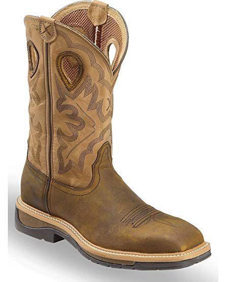 1d9aa9e5c01 Twisted X Boots Mens Steel Toe Hazel Lite Cowboy Work Boots Review ...