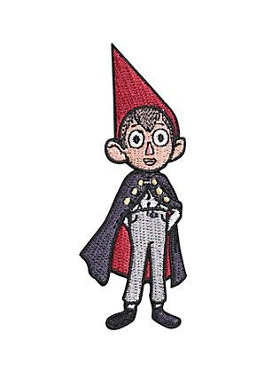 Over The Garden Wall Wirt Iron On Patch Over The Garden Wall