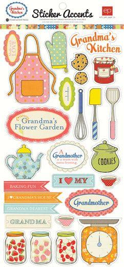 Collections | echo park paper co. Grandma's Kitchen