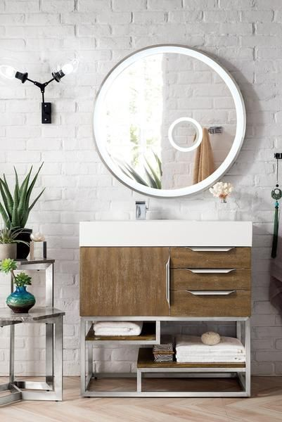 36 Columbia Single Bathroom Vanity Latte Oak In 2020 Single Sink Bathroom Vanity Single Bathroom Vanity Bathroom Vanity Trends