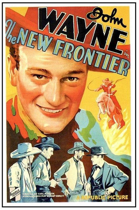 Vintage Western Movie Poster for Art