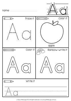 Alphabet Beginning Sound Worksheets Alphabet Worksheets Alphabet Preschool Preschool Writing