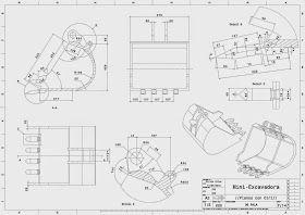 Planos Con Ciri Mini Excavadora Planos Cuaderno Cuadriculado Tecnicas De Dibujo