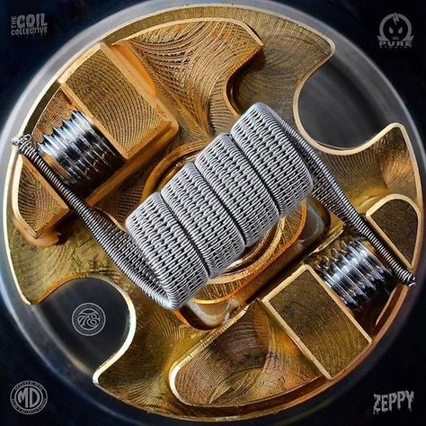 Fucking gorgeous #Thecoilcollective @ouhaa78 ・・・ Alright guys.. I havent been bulding for quite a while now.. So figured I would start off with something relatively easy.. 4 core sfc (28/38 all @pureatomist wire) sitting rather pretty in the mage gta from @officialcoilart.. Really looking forward to trying out this tank Happy new year to each and every one of you ____________________________________________ #coils #vaping #vapecommunity #coilart #vapeporn #vapeart #vapefam #vapeon #va