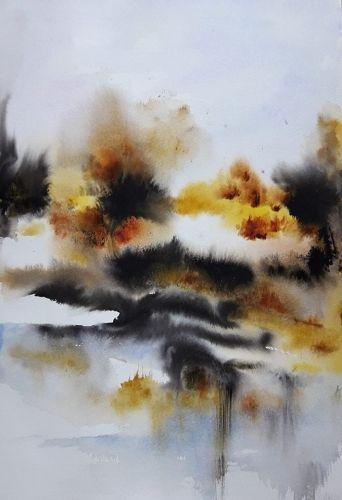 Abby Encres Colorex Paysages Oiseaux Fleurs Aquarelles Encres
