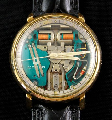 Vintage Bulova Accutron Spaceview M5 Gents Wrist Watch c1965 AS IS