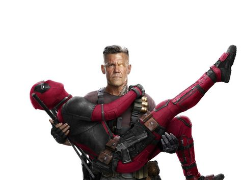 Cable and deadpool, deadpool 2, movie wallpaper