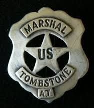 Old West Badge: Ariz Police Marshal Lawman Deputy U.S Terr