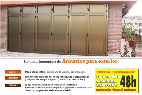 Armarios Exterior Armario Exterior Armarios Y Aluminio