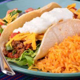 Soft Beef Tacos Recipe Soft Tacos Recipes Tacos Beef Soft Taco Recipe Ground Beef
