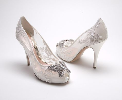 Sparkle Down the Aisle Wedding Shoes Belle the Magazine