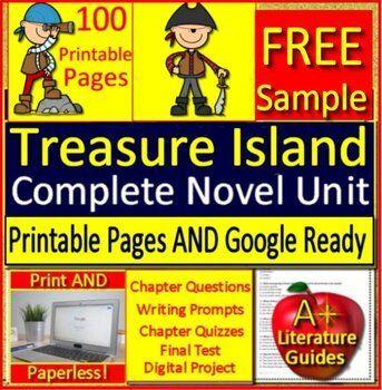 Treasure Island Distance Learning Self Grading Google Forms Link